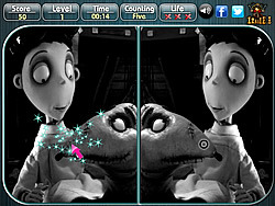 Frankenweenie - Spot the Difference game