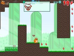 Frozy and Fred game