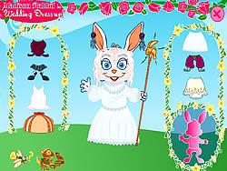 Madison Rabbit: Wedding Dress up game