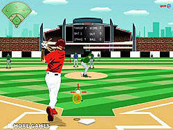 Baseball League game