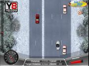 Winter Death Race Game game