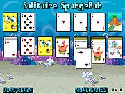 Solitaire SpongeBob game