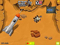 Mars Adventures Curiosity Parking game
