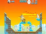 Crazy Penguin Catapult game