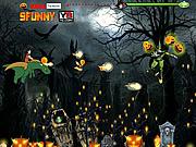 Dragon Ball Halloween game