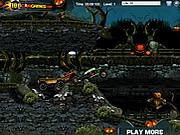 Halloween Graveyard Racing game
