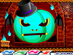 Mystery Halloween Pumpkin Lantern game