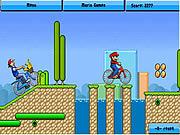 Toon BMX Race game
