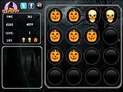 Halloween Memory Tiles game