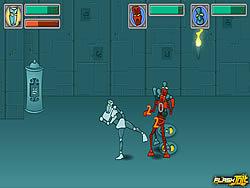 Tribot Fighter game