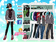 Justin Bieber Dress Up Craze game