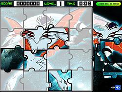 Ben 10 Alien Jigsaw game