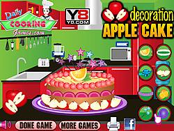 Apple Cake Decoration game