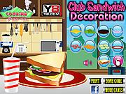 Club Sandwich Decoration game