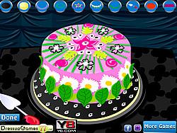 Flower Cake game