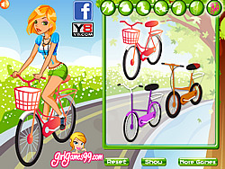Bike to School game