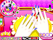 Alice Manicure Try game