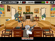 Play Bush shoot out Game