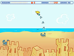 Powerpuff Girls: Sand Castle Hassle game