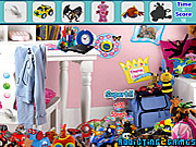 juego Modern Toys Room Hidden Object