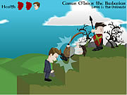 Conan O'Brien the Barbarian game