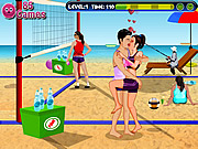 Volleyball Kissing game