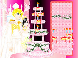 Design your Wedding Cake game