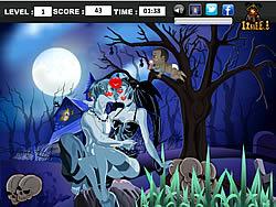 Dark Night Kiss game