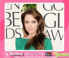 Angelina Jolie Beauty Puzzle game