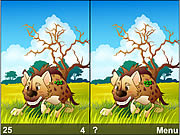 Animal Life Spot Difference Game game