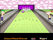 Phineas and Ferb Bowling game