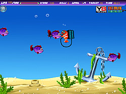 Fish Shooting Time game