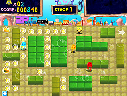 SpongeBob the Big Meal of Crab Fort y8 game