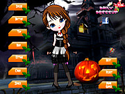 Scary Cute Girl Dress Up game