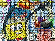 Sponge Bob Coctail Puzzle game
