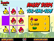 Angry Birds Tic-Tac-Toe game