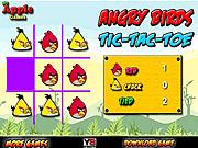 Jucați jocuri gratuite Angry Birds Tic-Tac-Toe