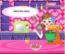 Orange Glazed Strawberry Cupcakes Game game