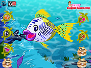 Johnny The Fish Dressup game