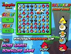 Bejeweled Angry Birds game