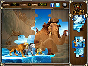 Ice Age 4 - Jigsaw Puzzle game