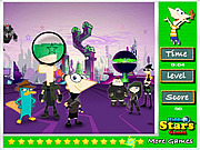 juego Phineas and Ferb Hidden Stars