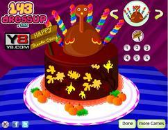 Thanksgiving  Cake game
