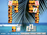 Sunny Island Solitaire game