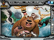 Watch free cartoon Open Season - Hidden Objects