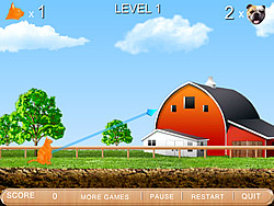 Flying Attack Cat game