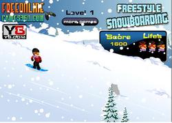 Freestyle Snowboarding Game game