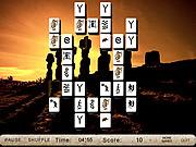 Mysterious Sculptures Mahjong game