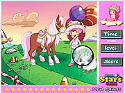 Strawberry Princess Hidden Stars لعبة