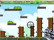 Shoot Green Piggy game